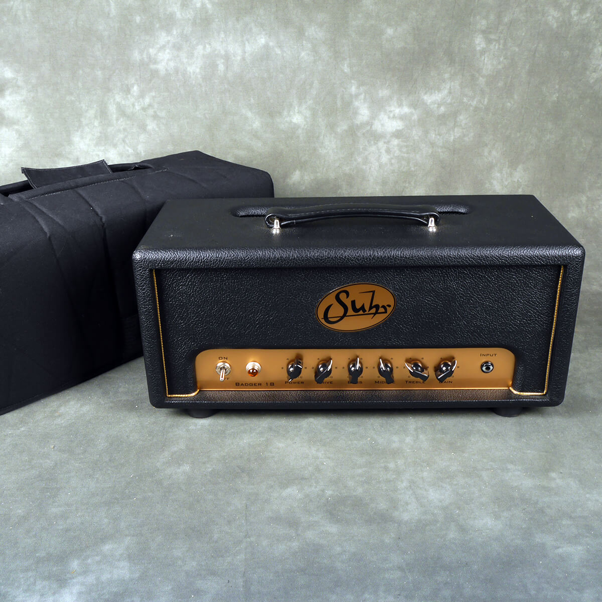 Suhr Badger 18w Amp Head **UK SHIP ONLY** w/Cover - 2nd Hand