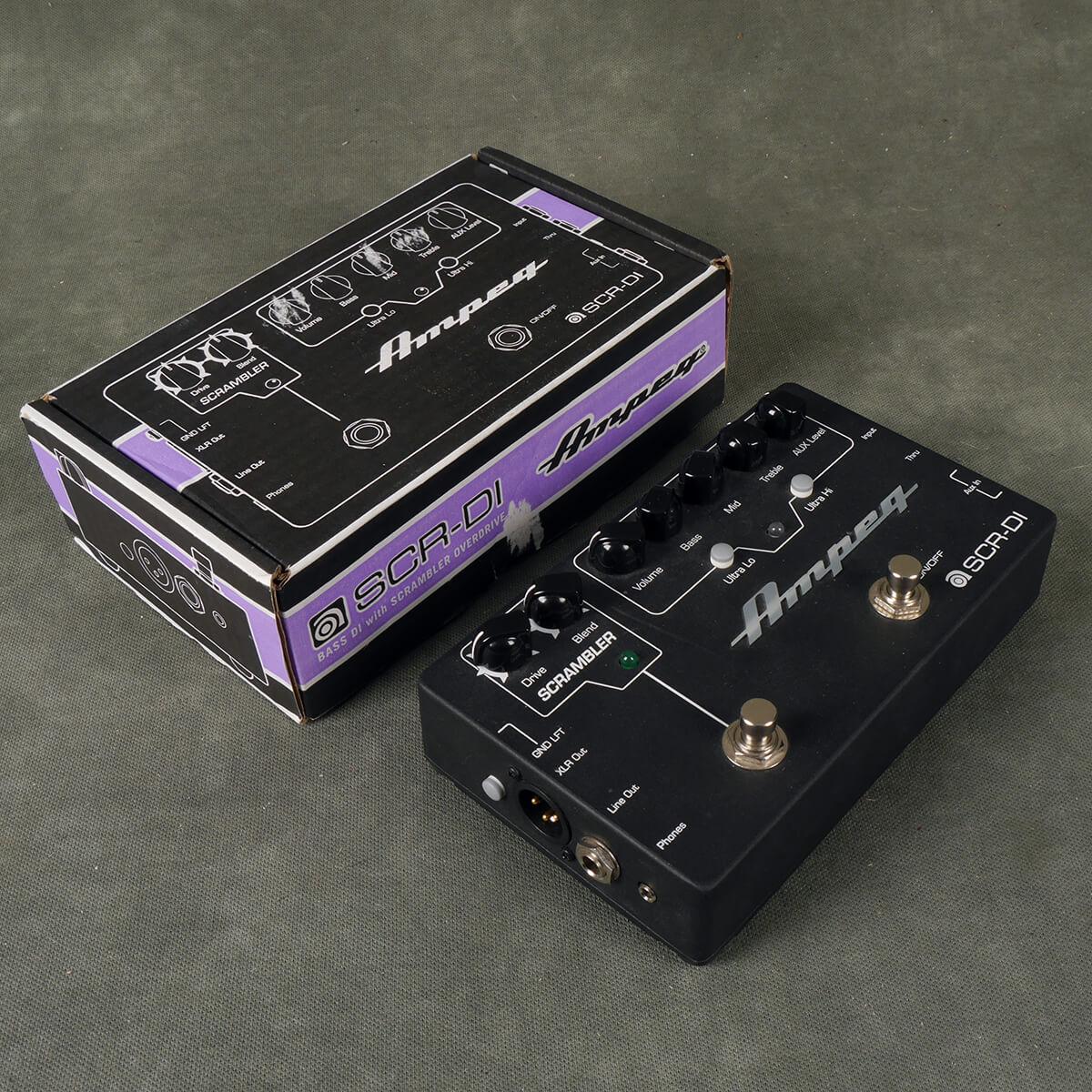 Ampeg SCR-DI Pre-Amp FX Pedal w/Box - 2nd Hand