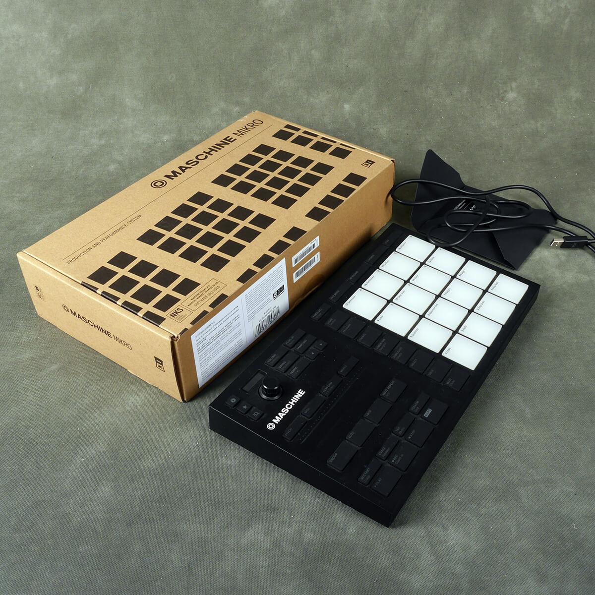 Native Instruments Maschine Mikro MK3 w/Box - 2nd Hand