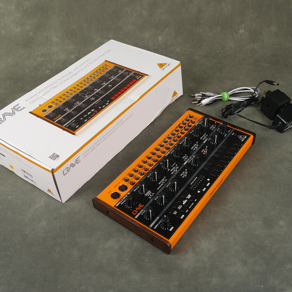 Behringer Crave Analogue Synthesizer w/Box & PSU - 2nd Hand