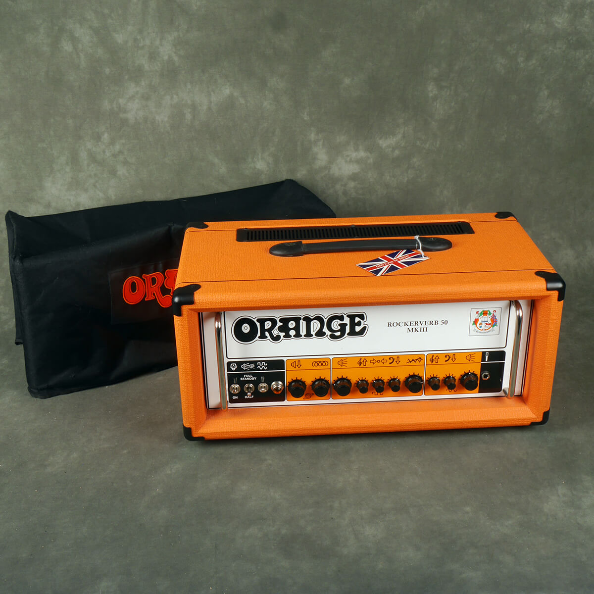 Orange Rockerverb 50 MKIII Amplifier Head w/Cover - 2nd Hand **COLLECTION ONLY**