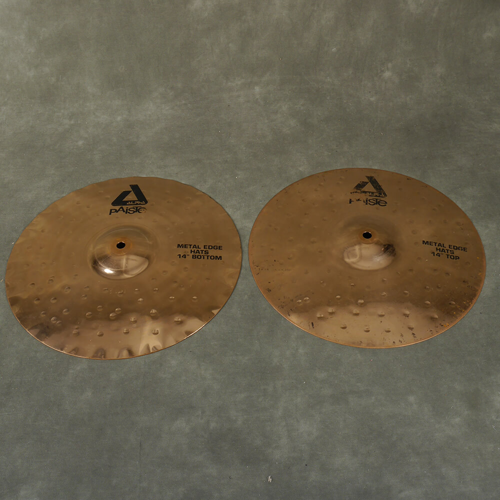 Paiste Metal Edge 14″ Hi Hats - 2nd Hand