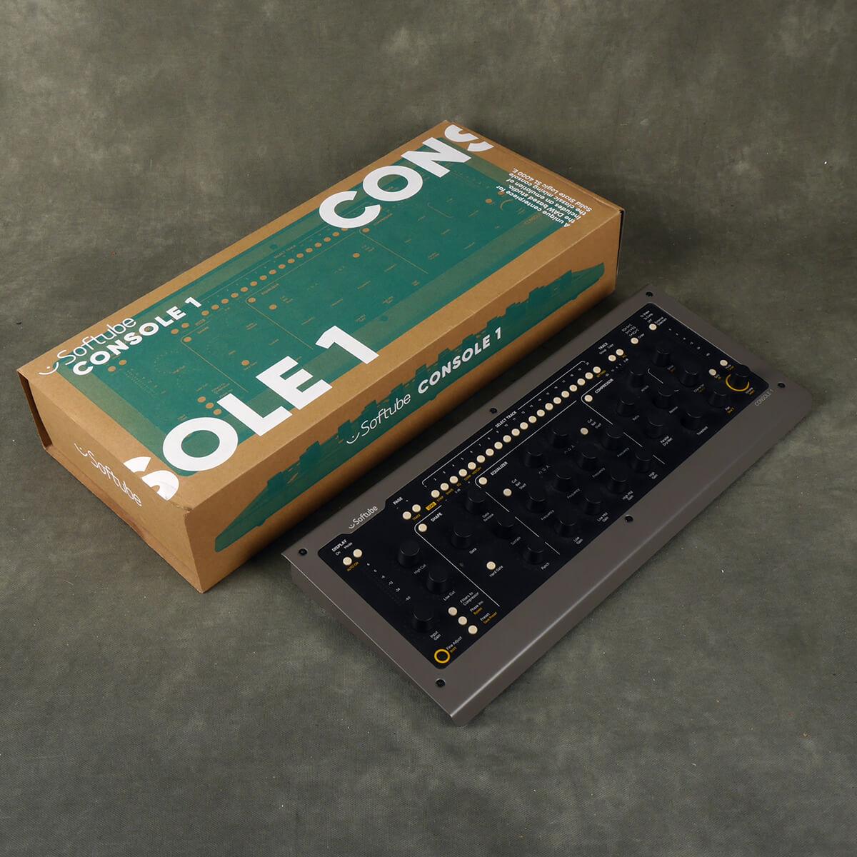 Softtube Console 1 DAW Controller w/Box - 2nd Hand