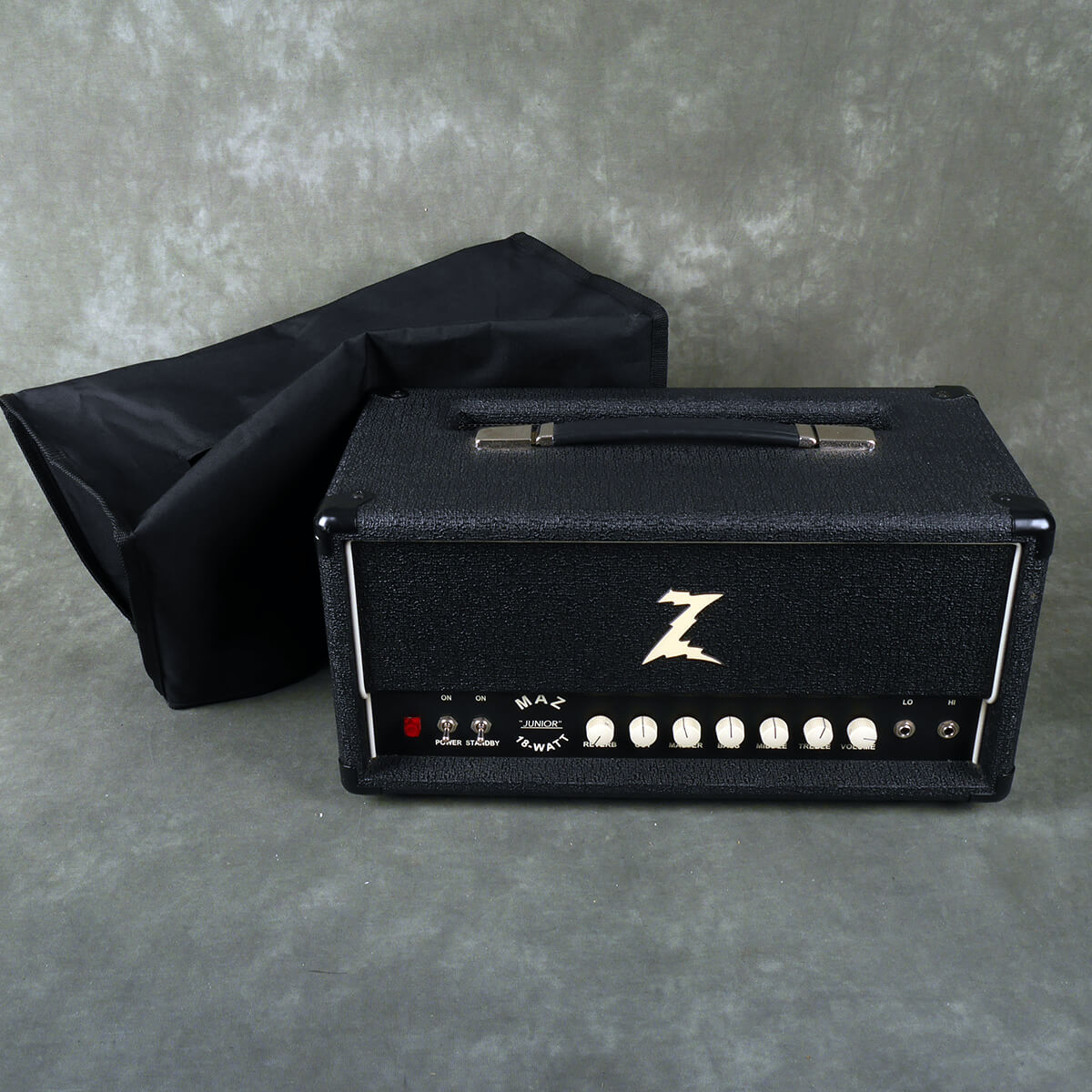 DR Z Maz 18 Junior Reverb Guitar Amp Head w/Cover **COLLECTION ONLY**