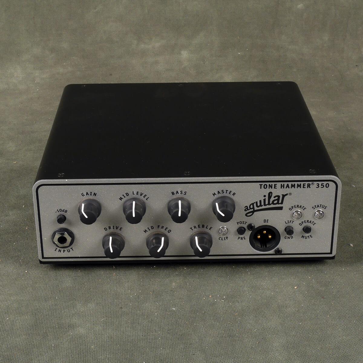 Aguilar Tone Hammer 350 Bass Amp Head - 2nd Hand
