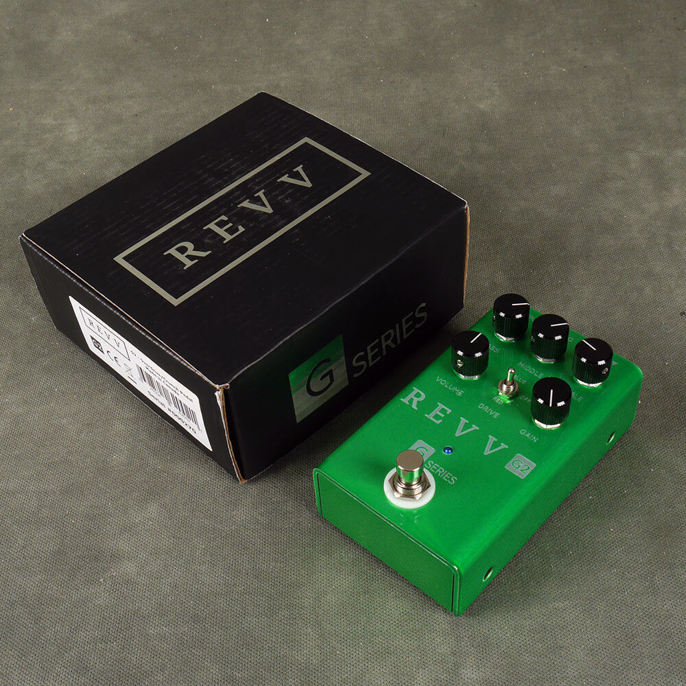 REVV G2 Overdrive FX Pedal w/Box - 2nd Hand