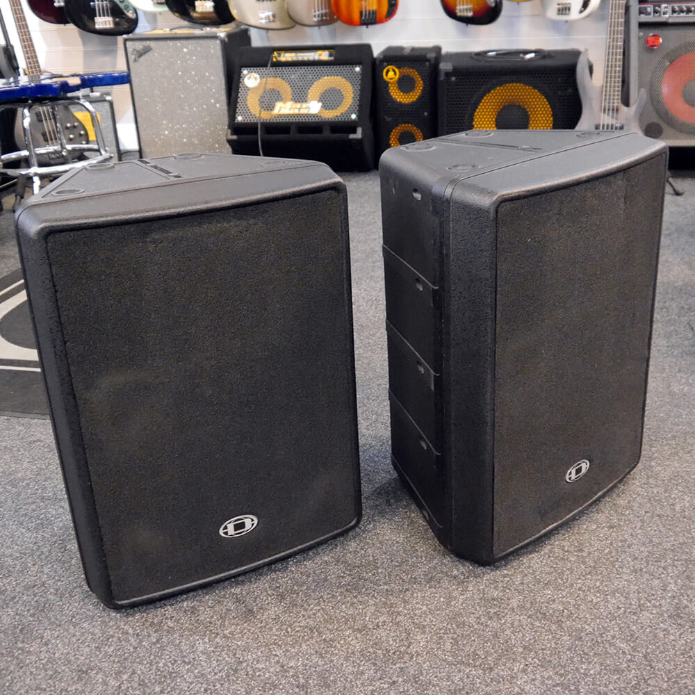 Dynacord D12 Passive PA Speakers - Pair - 2nd Hand