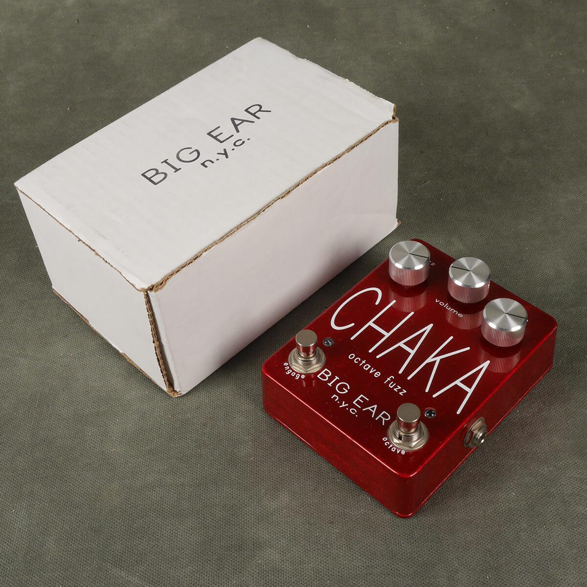Big Ear N.Y.C Chaka Octave Fuzz FX Pedal w/Box - 2nd Hand