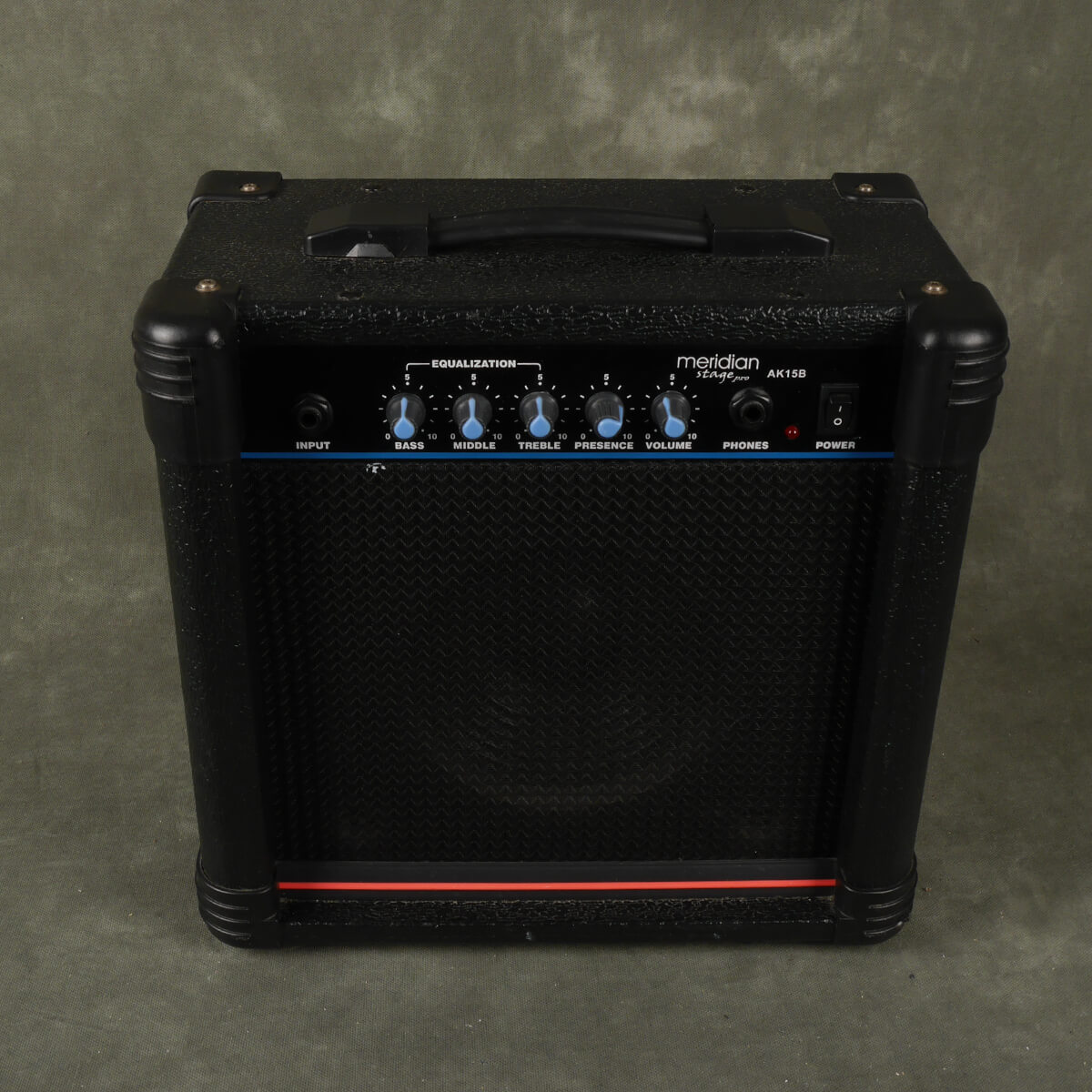 Meridian Stage Pro AK15B Bass Practice Amp - 2nd Hand