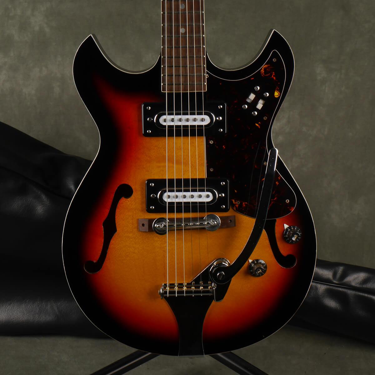 Audition 60s/70s 7003 Guitar - Sunburst w/Gig Bag - 2nd Hand