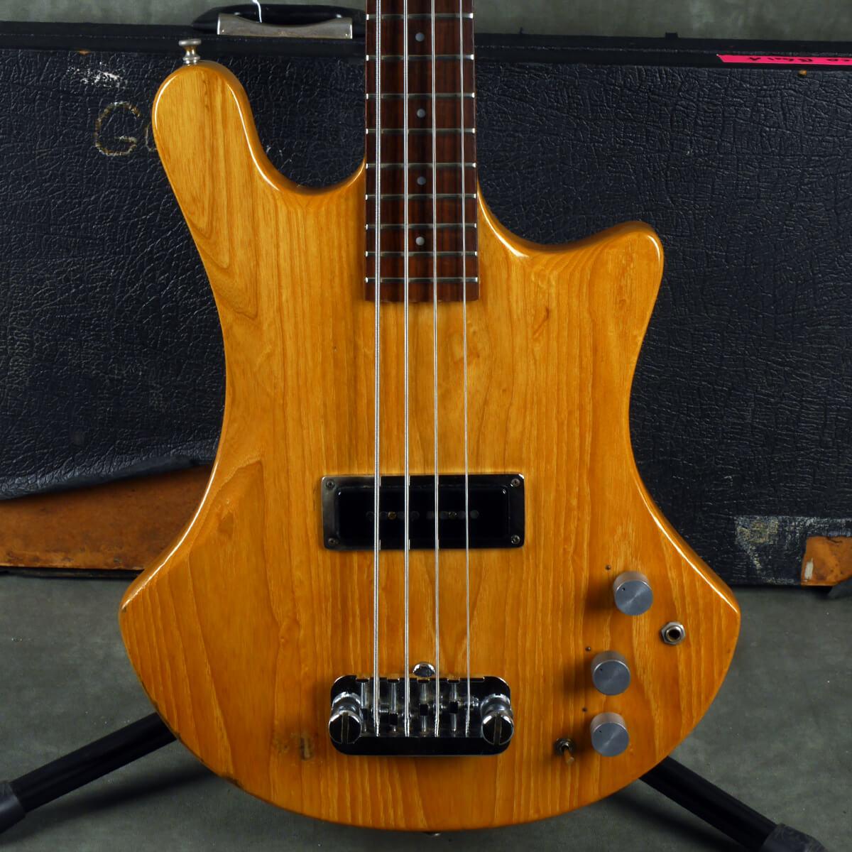 Guild B401A Bass Guitar - Natural w/Hard Case - 2nd Hand