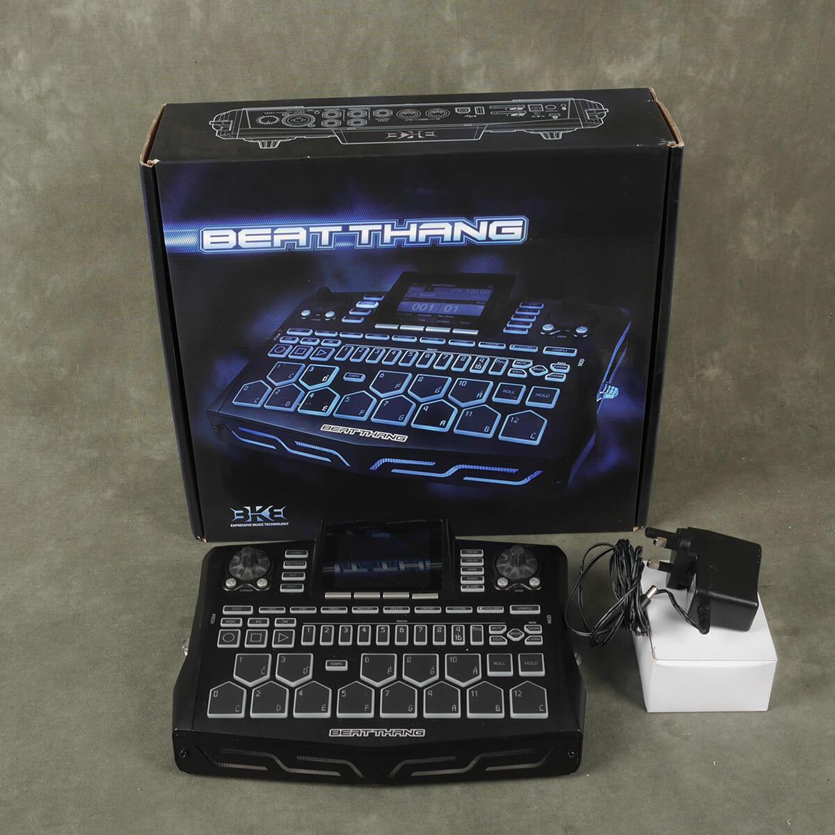 BKE Technology Beat Thang Sampler/Sequencer w/Box & PSU - 2nd Hand