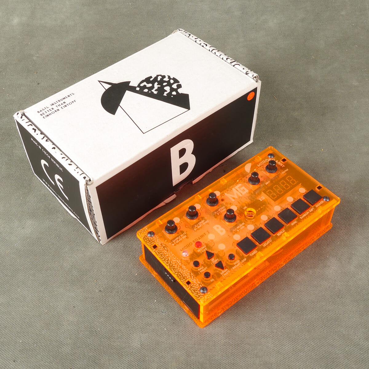 Bastl Instruments Micro Granny 2.5 Granular Synth w/Box - 2nd Hand