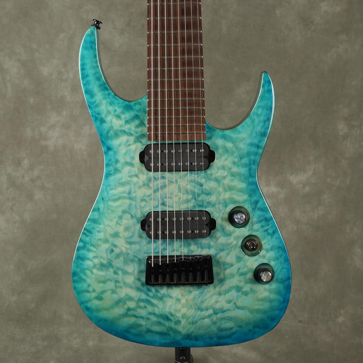 Agile Septor 827 8-String Guitar - Oceanburst - 2nd Hand