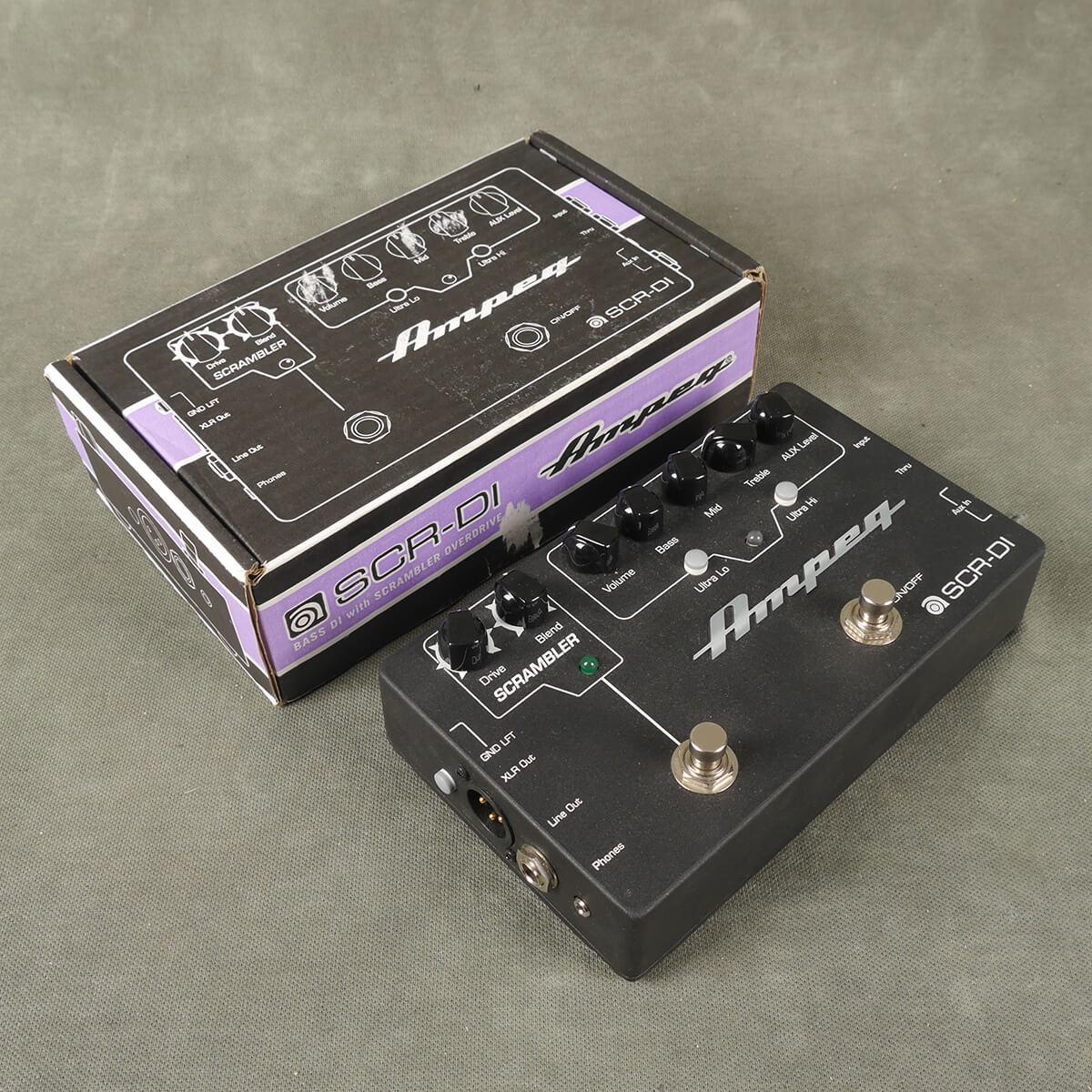 Ampeg SCR-DI Preamp FX Pedal w/Box - 2nd Hand