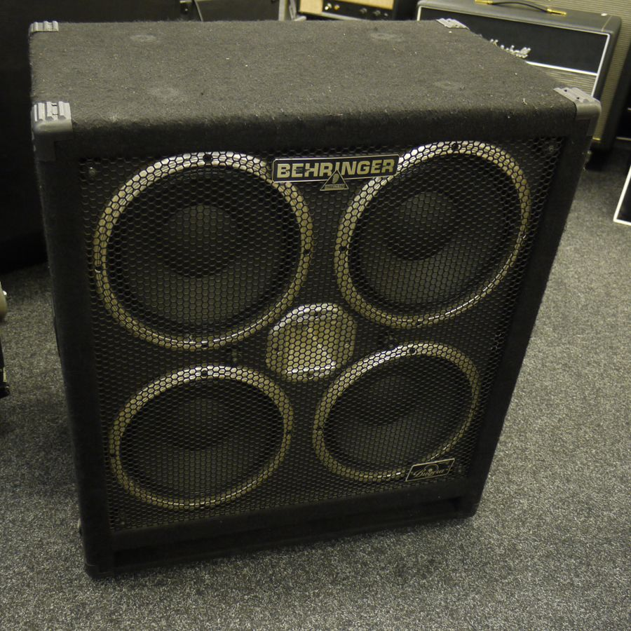 Behringer BB410 4x10 Bass Speaker Cabinet - Rich Tone Music