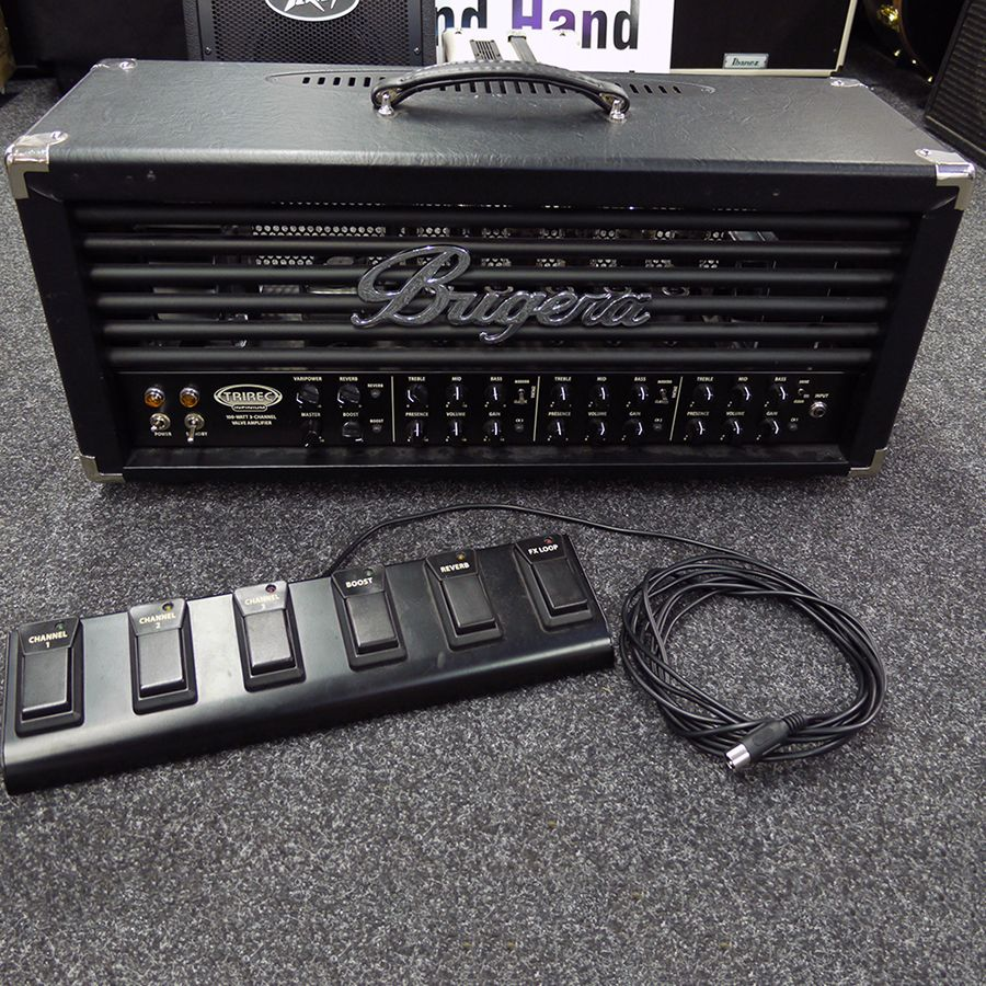 bugera trirec infinium amp head w footswitch 2nd hand rich tone music. Black Bedroom Furniture Sets. Home Design Ideas