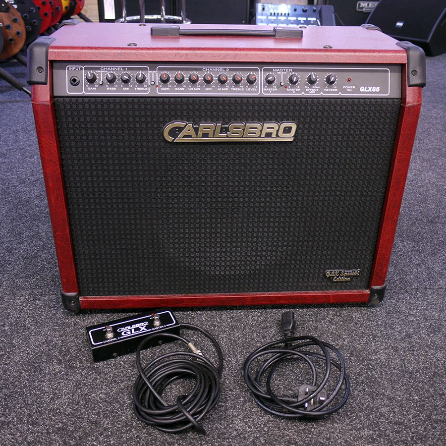 carlsbro glx85 special edition guitar amplifier 2nd hand rich tone music. Black Bedroom Furniture Sets. Home Design Ideas