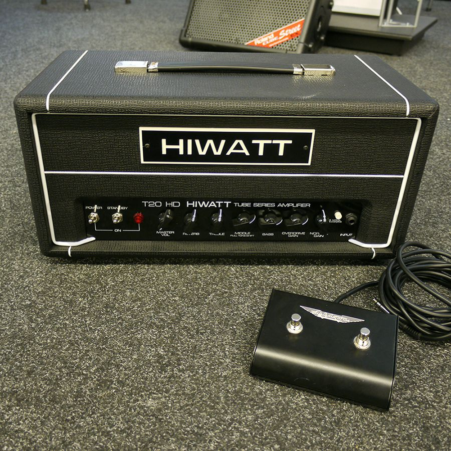 hiwatt t20hd guitar valve amp head 2nd hand rich tone music. Black Bedroom Furniture Sets. Home Design Ideas