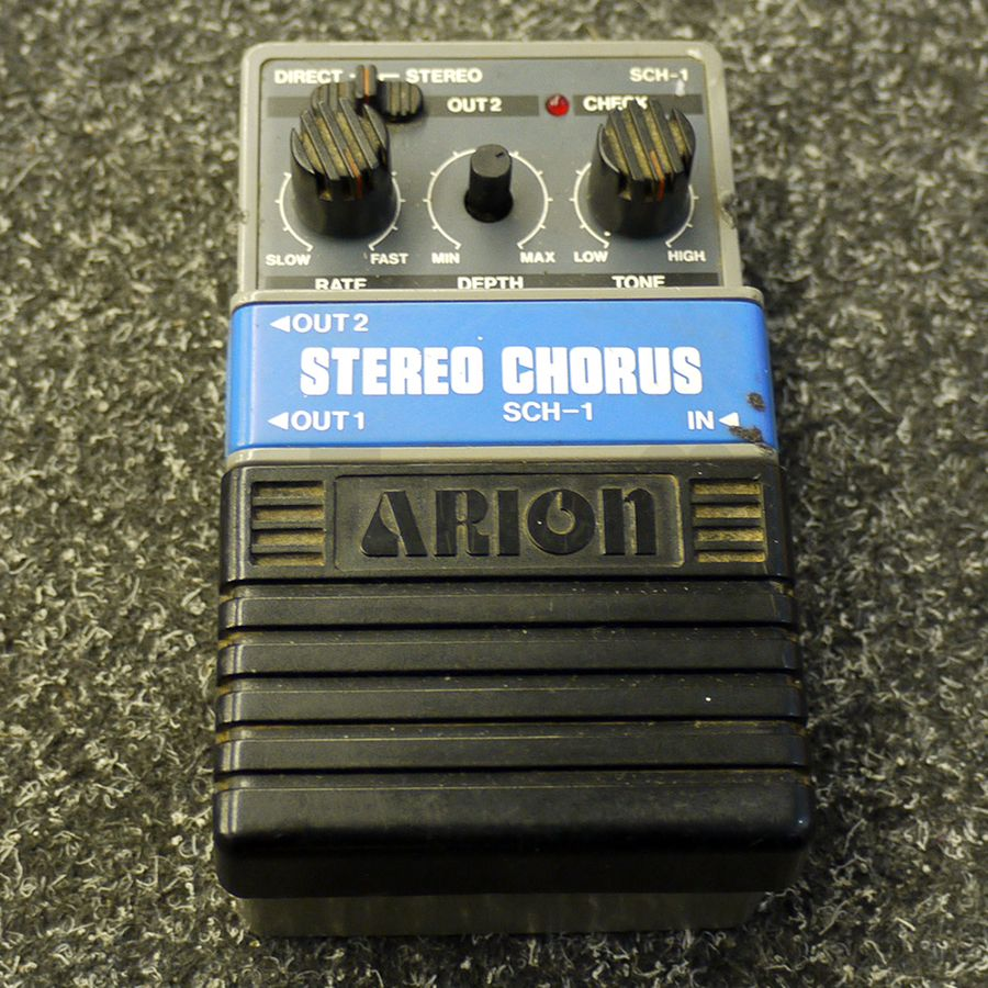 arion sch 1 stereo chorus fx pedal 2nd hand rich tone music. Black Bedroom Furniture Sets. Home Design Ideas