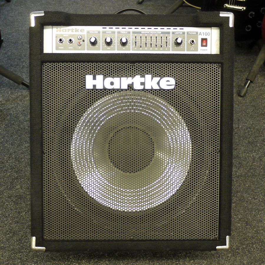 hartke a100 bass combo amp 2nd hand rich tone music. Black Bedroom Furniture Sets. Home Design Ideas