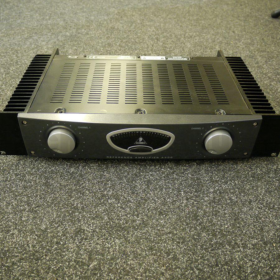 behringer a500 power amplifier 2nd hand rich tone music. Black Bedroom Furniture Sets. Home Design Ideas