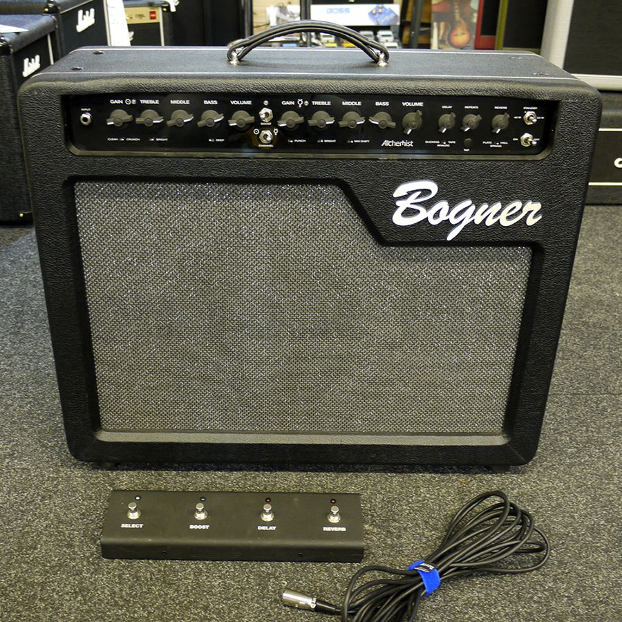 bogner alchemist 1x12 40w combo amp w footswitch 2nd hand rich tone music. Black Bedroom Furniture Sets. Home Design Ideas
