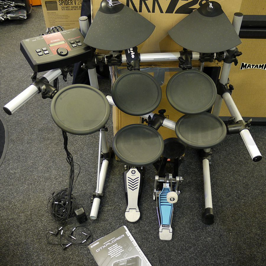 yamaha dtx500 electronic drum kit 2nd hand rich tone music