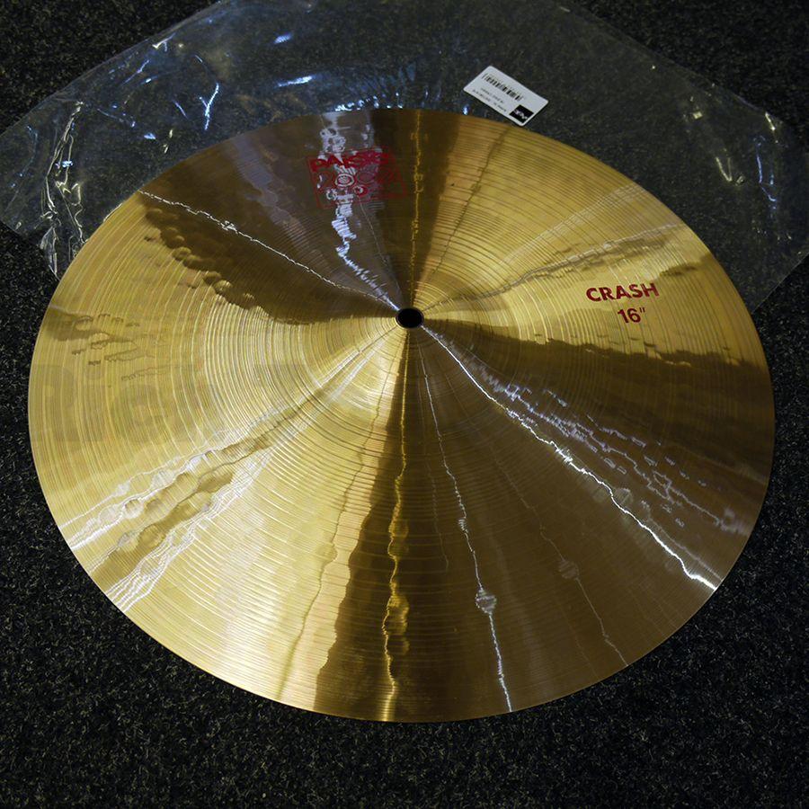 Paiste 2002 16″ Crash Cymbal w/ Bag - 2nd Hand