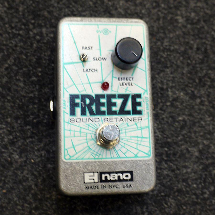 electro harmonix freeze fx pedal 2nd hand rich tone music. Black Bedroom Furniture Sets. Home Design Ideas