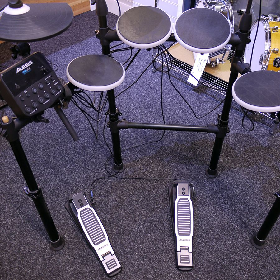 alesis dm lite electronic drum kit 2nd hand rich tone music. Black Bedroom Furniture Sets. Home Design Ideas