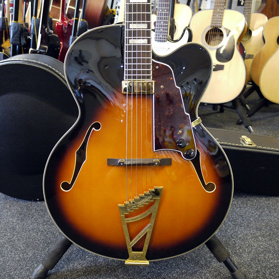 second hand d 39 angelico electric guitars rich tone music. Black Bedroom Furniture Sets. Home Design Ideas