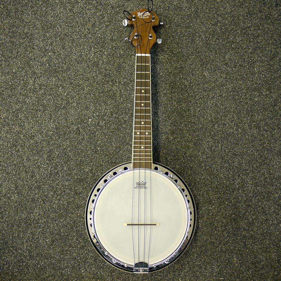 Barnes & Mullins UBJ1 Banjo Ukulele - 2nd Hand | Rich Tone ...