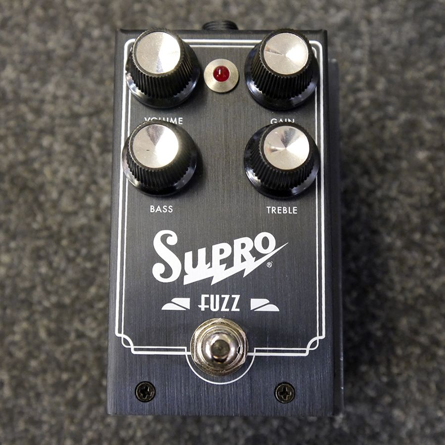 Supro 1304 Fuzz FX Pedal w/ Box - 2nd Hand