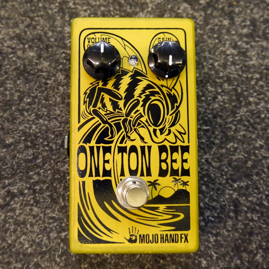 Mojo Hand FX One Ton Bee Fuzz Pedal - 2nd Hand