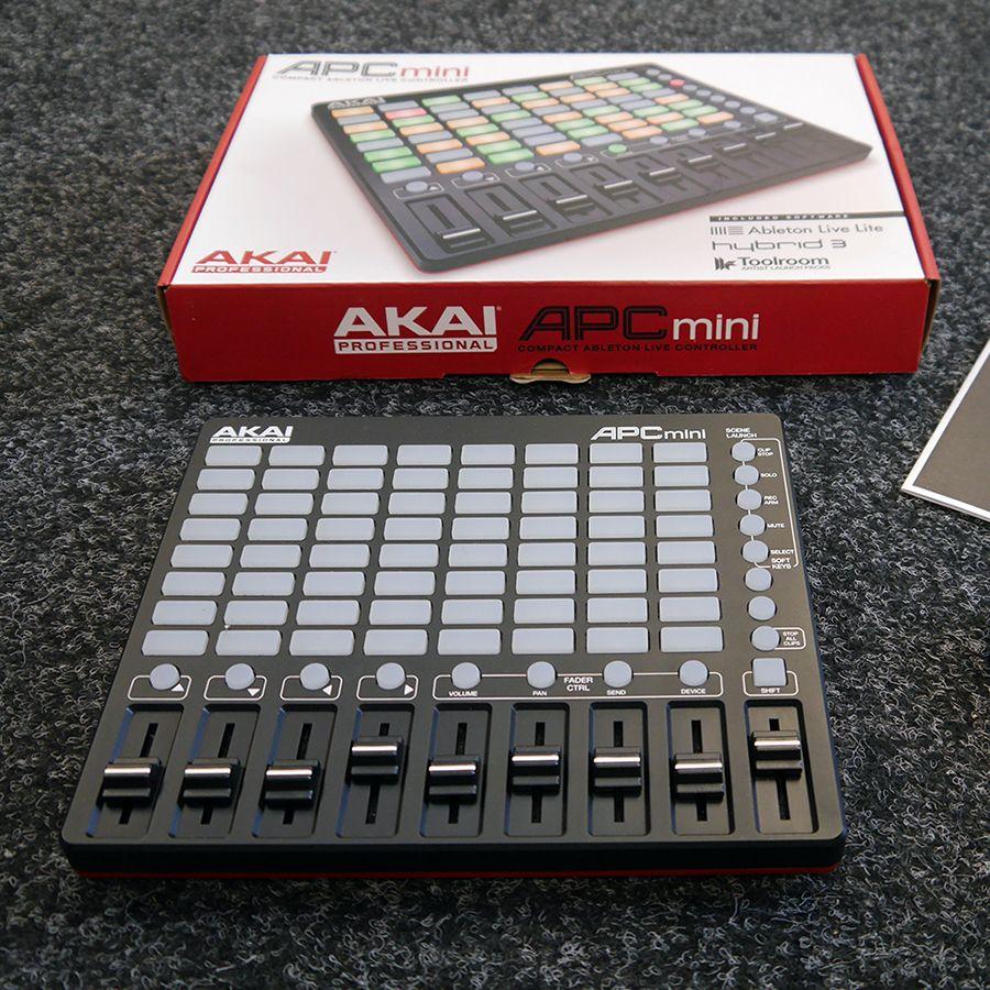 AKAI APC Mini USB Controller w/ Box - 2nd Hand
