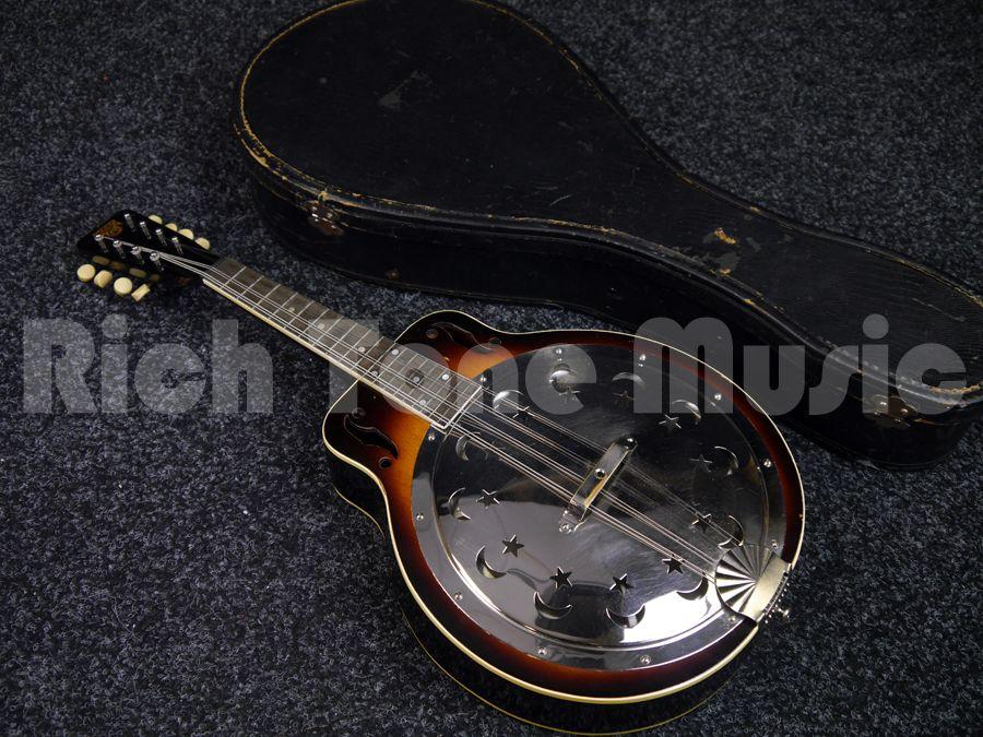 Dobro 1931 250 Resonator Mandolin w/ Hard Case - 2nd Hand