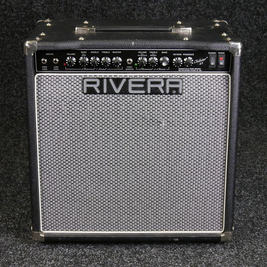 Rivera Clubster 45 Combo Amp - NO REVERB - ** COLLECTION ONLY**  2nd Hand