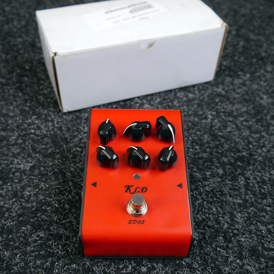 KLD SD03 3-in-1 Distortion FX Pedal w/ Box - 2nd Hand