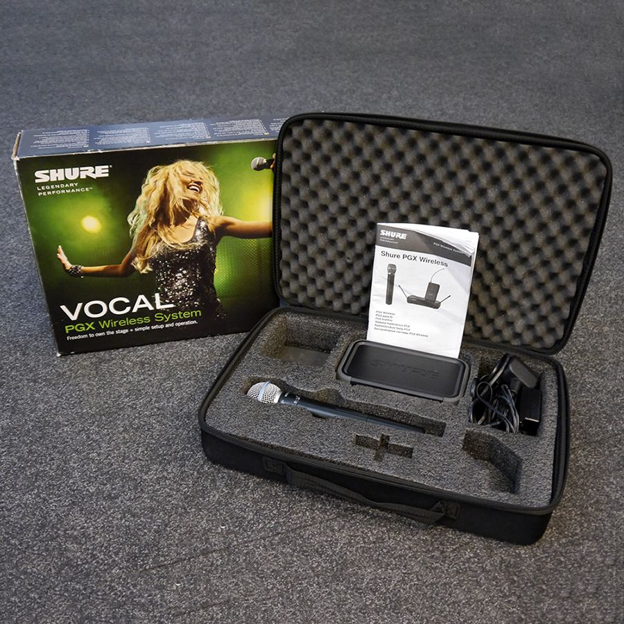 Shure PGX24UK Beta 58 Wireless Microphone System w/ Box - 2nd Hand