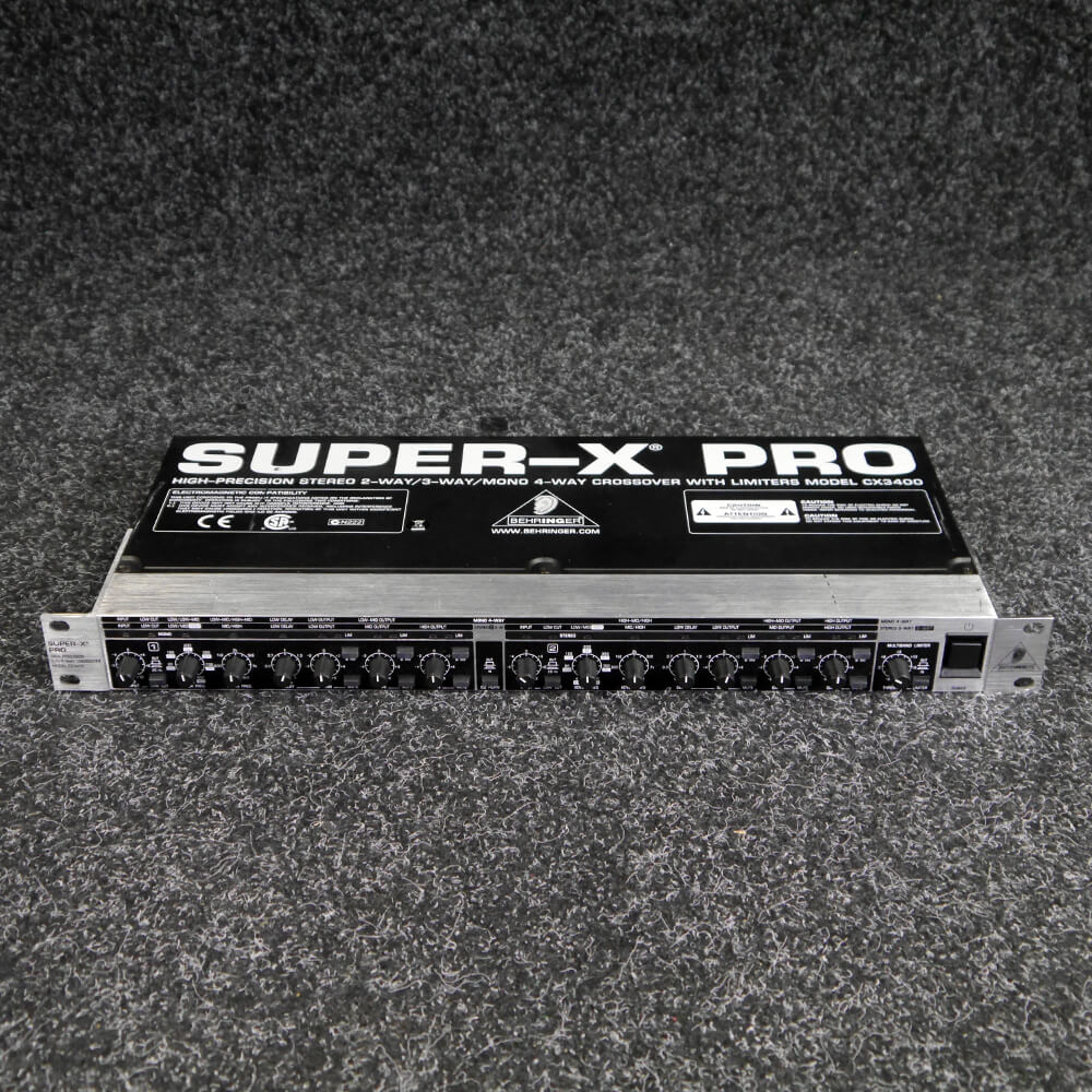 Behringer CX3400 Pro Super-X Crossover - 2nd Hand