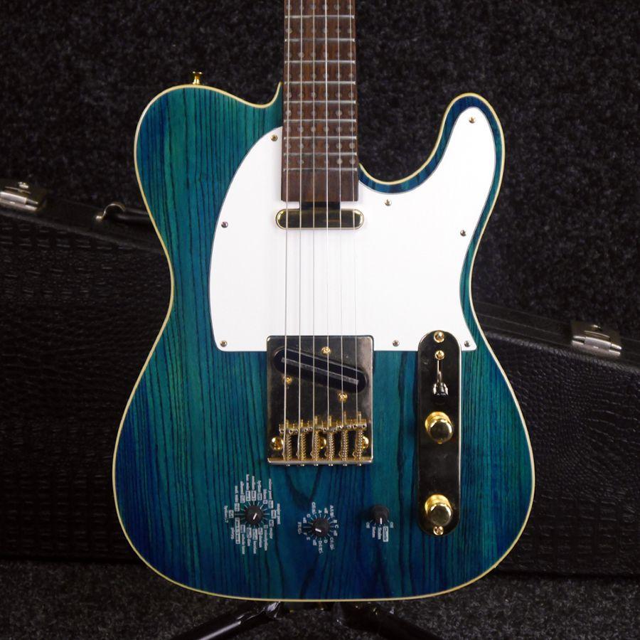 fretlight artist 200 series modelling guitar w hard case 2nd hand rich tone music. Black Bedroom Furniture Sets. Home Design Ideas