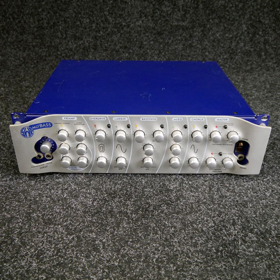 SWR Mo'Bass Basstop Amp Head - 2nd Hand **COLLECTION ONLY**