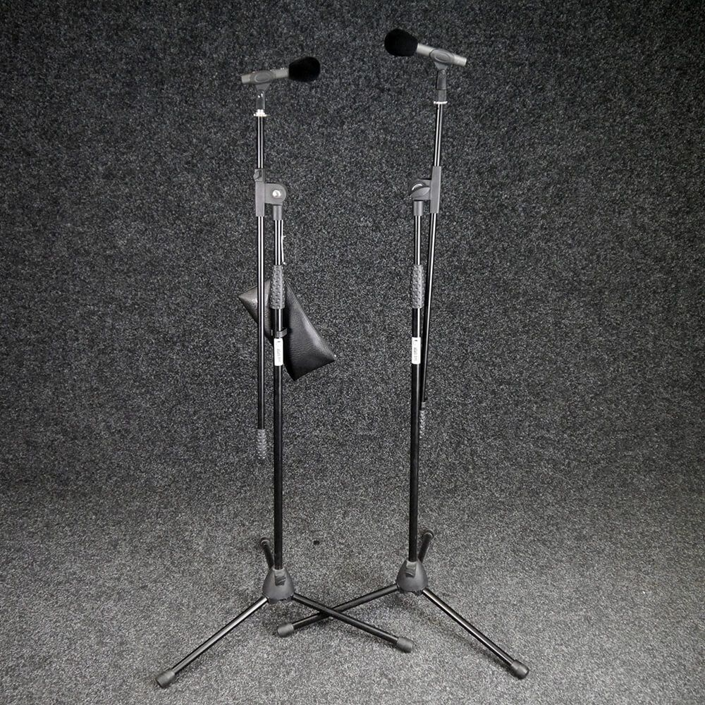 Studio Projects C4 Microphone, Pair with Stands - 2nd Hand