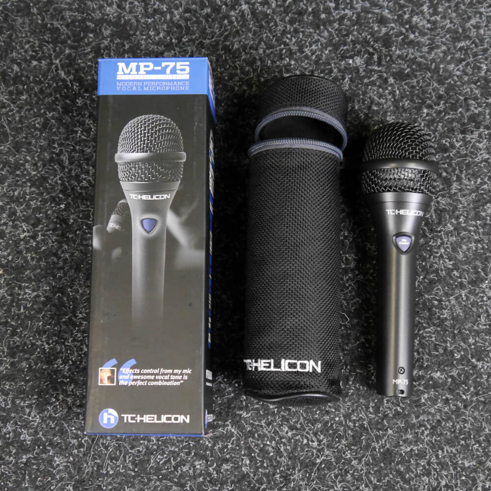 TC Helicon MP-75 Dynamic Vocal Microphone w/Box - 2nd Hand