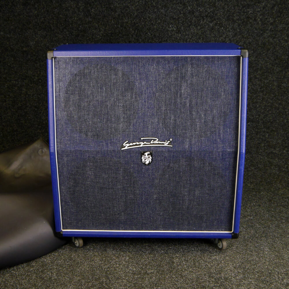 George Dennis The Blue 4x12 Cab w/Cover **COLLECTION ONLY** - 2nd Hand