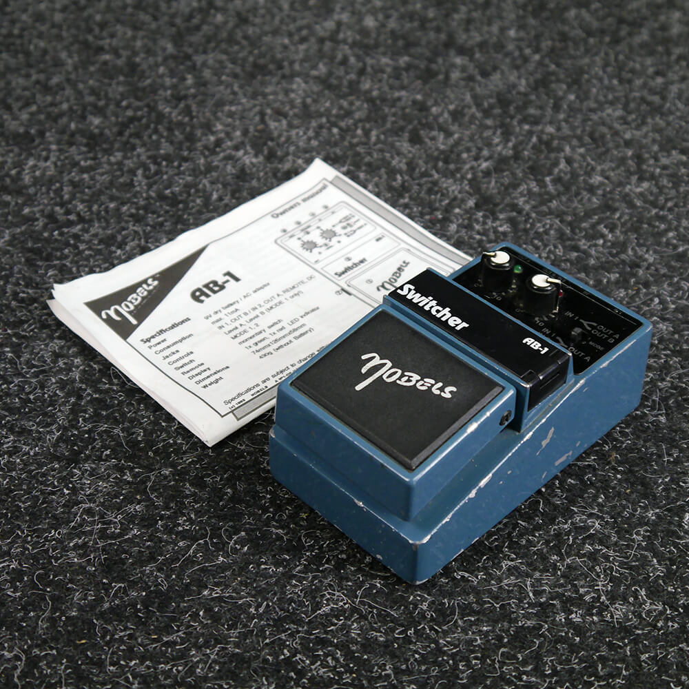 Nobels AB-1 Switcher Pedal - 2nd Hand