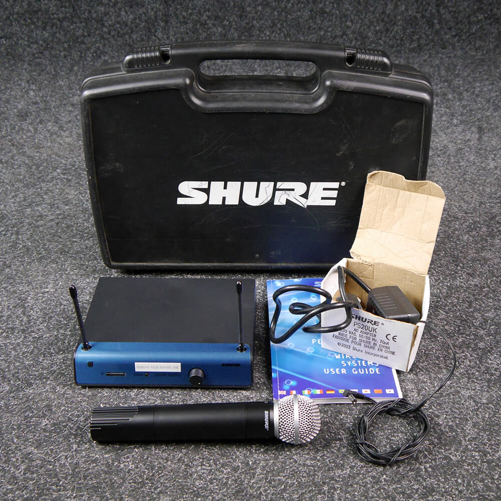 Shure UT4 Wireless System and SM58 Mic w/Hard Case - 2nd Hand