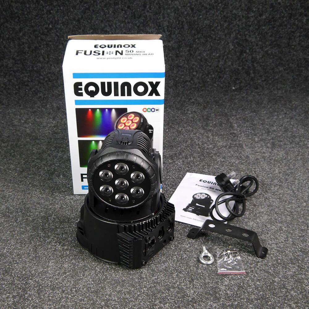 Equinox Fusion 50 MkII Moving Head w/Box - 2nd Hand