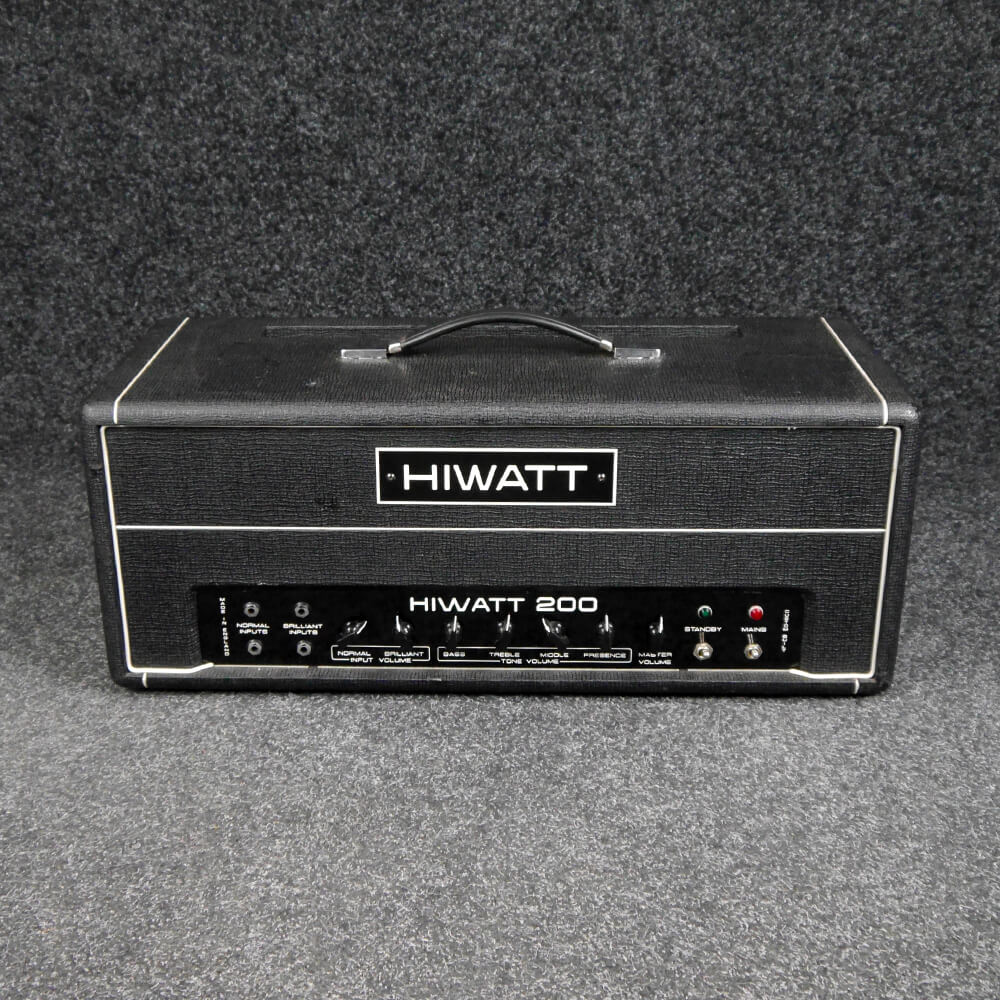 HiWatt DR201 Bass Amp Head - 2nd Hand **COLLECTION ONLY**